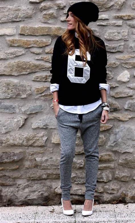 pantalon de jogging inspirations mode pour le porter en