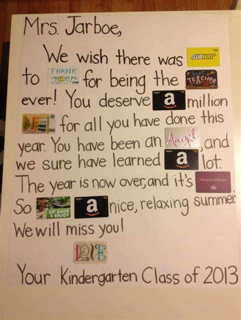 Gift Card Poems - pin by lacey helmert mensing on school pinterest