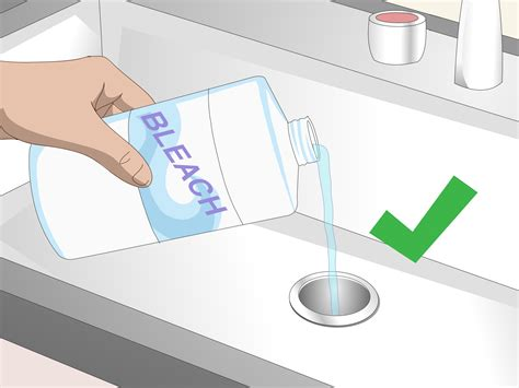 how to clean sink drain 3 ways to clean a sink drain wikihow