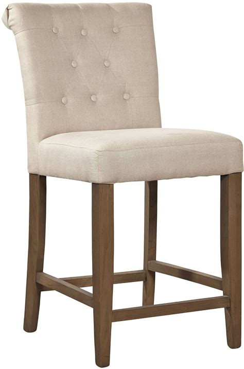 Linen Counter Stool by Beige Linen Counter Stool 91 081f Furniture Classics