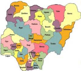 Map Of Nigeria States by Yorubas Are The Best In Accommodating Strangers In Nigeria