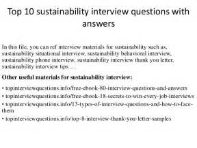 How To Start A Wedding Planning Business Top 10 Sustainability Interview Questions With Answers