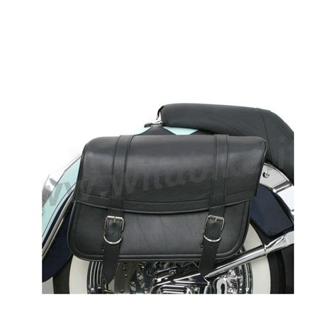 Bag C Nel Classic borse laterali in pelle highwayman classic jumbo per moto
