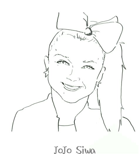 Free Printable Jojo Siwa Coloring Pages Pictures To Print
