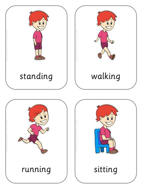 printable flashcards esl 1000 images about english vocabolary on pinterest kids