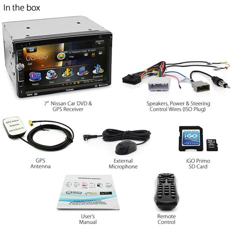 7 quot car gps dvd player for nissan juke qashqai navara