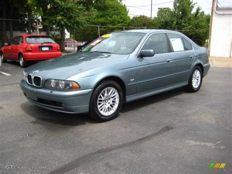 2001 Bmw 530i by 2001 Slate Green Metallic Bmw 5 Series 530i Sedan