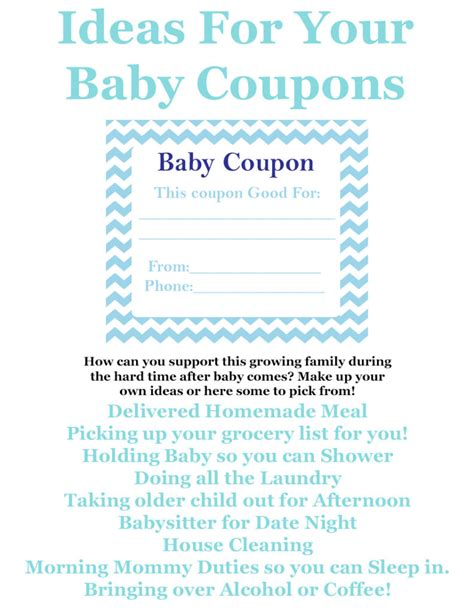printable vouchers baby baby coupon book ideas cyber monday deals on sleeping bags