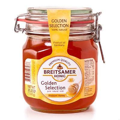 Honey 1000g 2 golden selection blossom honey breitsamer 1000g parthenon foods