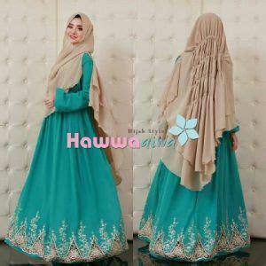baju muslim wanita setelan pashmina cantik terbaru