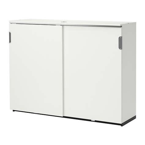 Galant Ikea Cabinet Galant Cabinet With Sliding Doors White Ikea