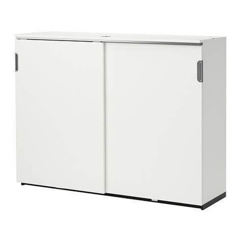 Sliding Door Cabinet Ikea Galant Cabinet With Sliding Doors White Ikea