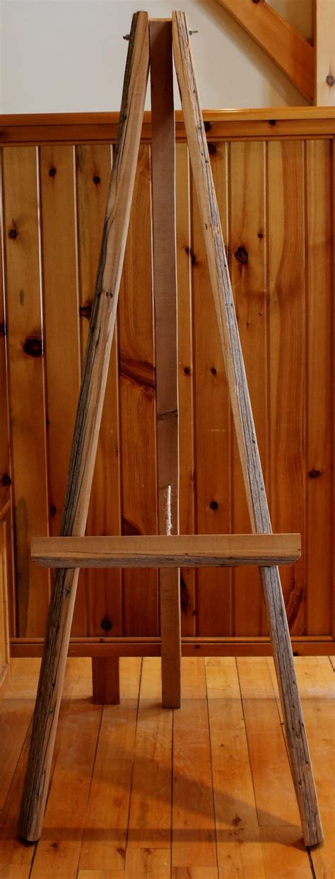 Handmade Easel - this easel has been handmade using a part of a cedar tree