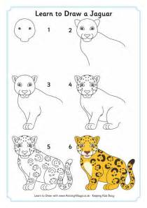 How To Draw A Jaguar Learn To Draw A Jaguar