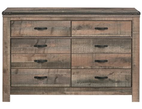 Broyhill Nightstands Slumberland Trinell Collection Rustic Dresser