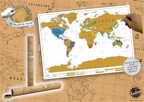 Where In The World You Been by Scratch World Map Scratch The Places You Ve Been