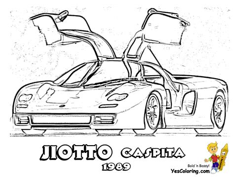 coloring pictures of supercars mega sports car coloring pages sports cars free