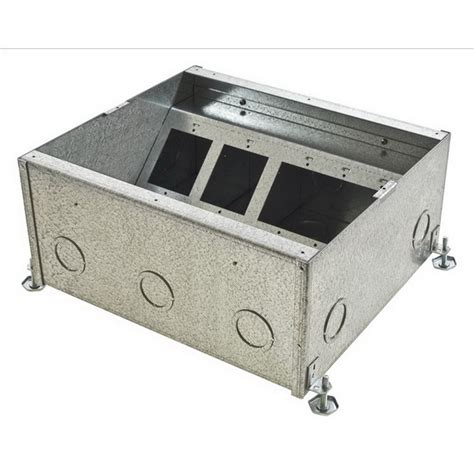 Hubbell Floor Box by Hubbell Wiring Cfb11g6 11 Rectangular Concrete Floor