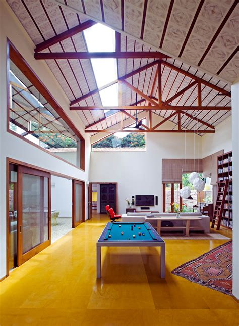 library house contemporary architecture  nostalgic air