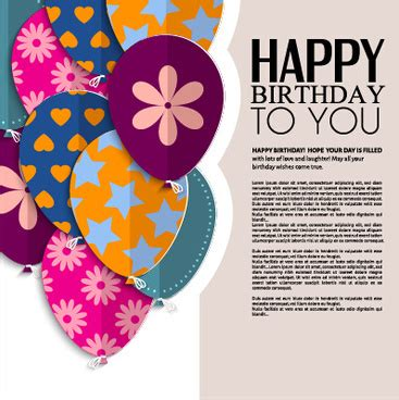 free svg card templates birthday greeting card vector free vector 13 380