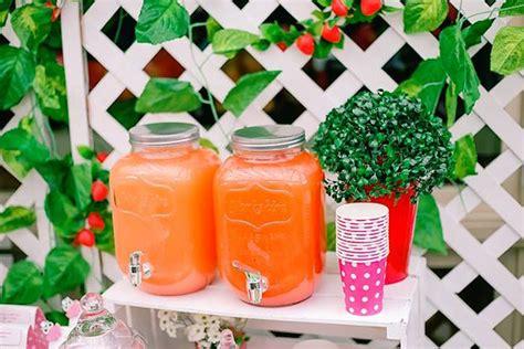 Kara S Party Ideas Strawberry Garden Party Garden Menu Ideas