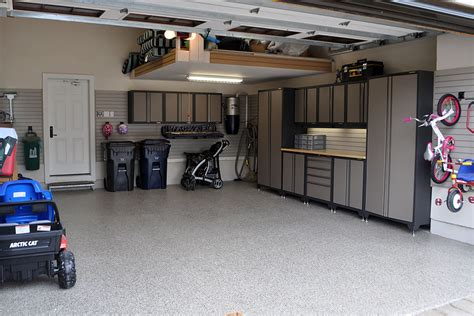 Garage Makeovers by Garage Makeover Ideas Garage Living
