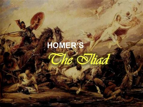 The Iliad By Homer the iliad by homer yeng bunsoy
