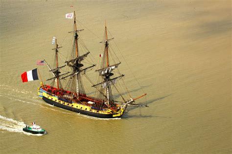 hermione bateau trajet la fr 233 gate hermione sur les traces de l ind 233 pendance
