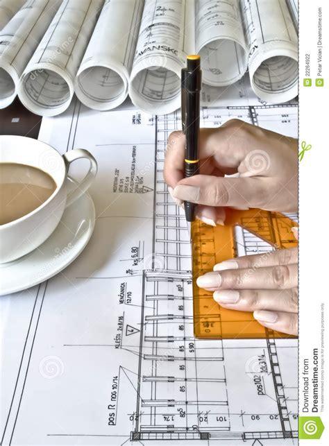 female architect  work stock photo image  designer