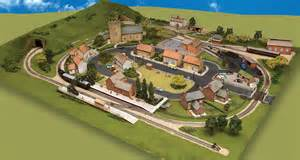 your model railway village inside your magazine