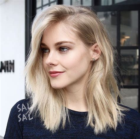 most flattering hair length 40 most flattering medium length hairstyles for thin hair