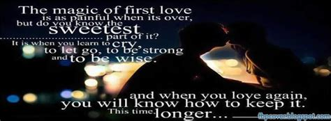fb quotes love magic of first love quote fb timeline cover