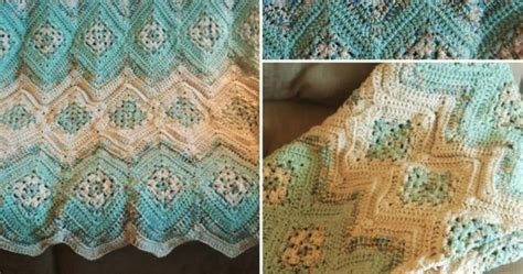simply crochet and other crafts grannies and ripples afghan simply crochet and other crafts ripples and grannies