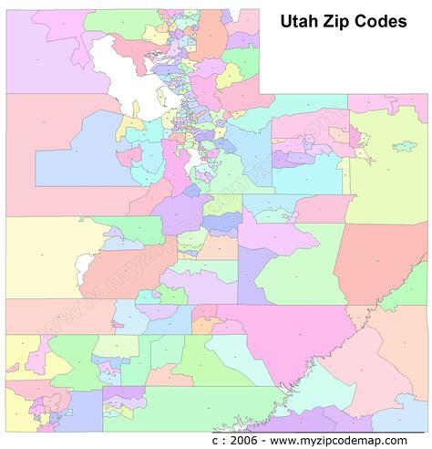 zip code map ut utah zip code maps free utah zip code maps