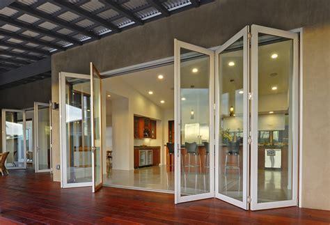Accordion Glass Door Image By Lacantina Doors Doors Accordion Glass Doors Upvc Windows And Doors