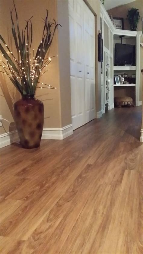 new engineered vinyl plank flooring called classico teak
