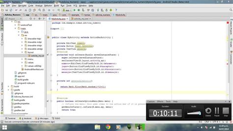 youtube tutorial android studio android studio tutorial espa 241 ol 1 4 juego android