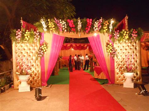 floral decoration lucky tent house
