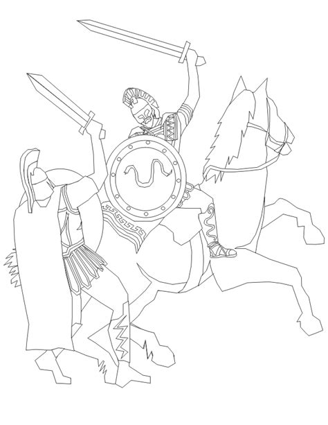 coloring pages of fighting knights knights coloring pages