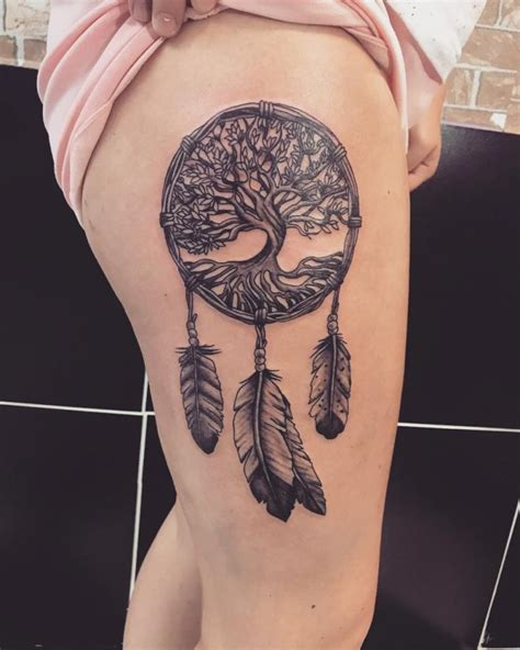 dreamcatcher tattoo designs meanings 80 best dreamcatcher designs meanings dive