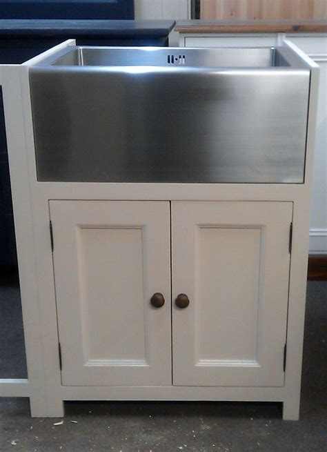 pine painted kitchen belfast butlers sink unit farrow and