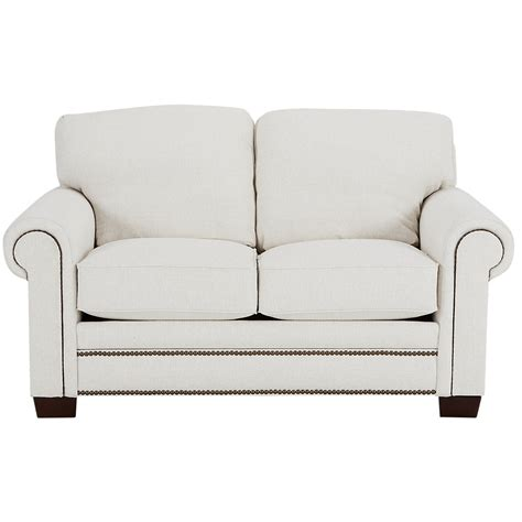 white fabric loveseat city furniture foster white fabric loveseat