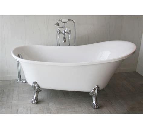 vasca da bagno con piedini vasca da bagno retr 242 freestanding con piedini cromati