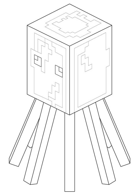 minecraft iballisticsquid coloring pages kolorowanki minecraft do druku dla dzieci i dorosłych