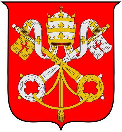 stemma santa sede file escudo de la santa sede svg wikimedia commons