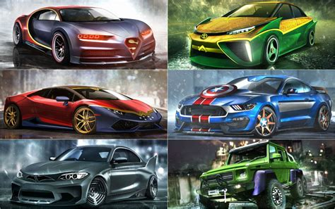 Supercars Do by What Supercars Would The Dc And Marvel Superheroes Drive