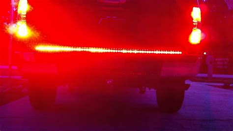 Led Light Bar Problems Led Tailgate Light Bar W Hardwire Install On 2012 Chevy Silverado