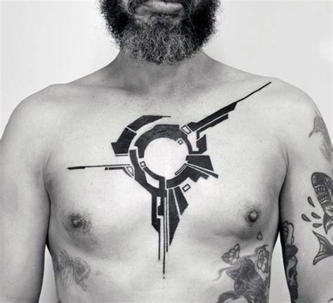 tattoo inspiration chest 50 simple chest tattoos for men manly upper body design ideas