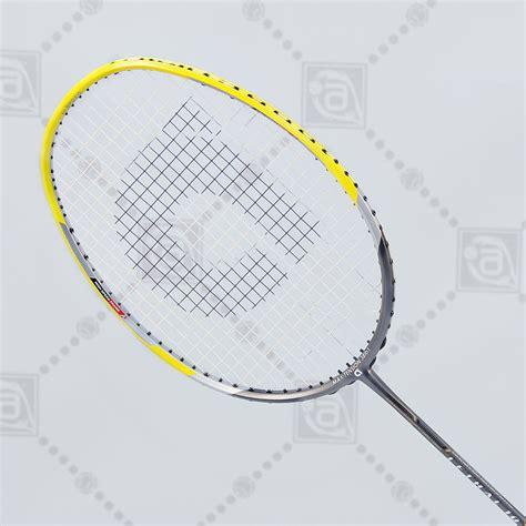 Raket Badminton Apacs Lethal 68 apacs lethal 10 badminton racket yellow grey aneelsports