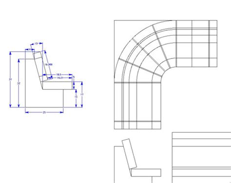 Dimensions For Banquette Seating by Dimensions Banquette Studio Design Gallery Best Design